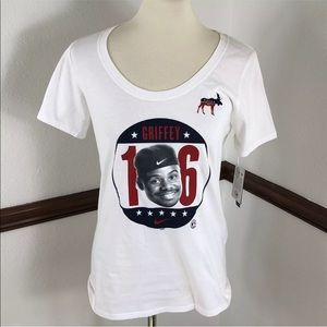 NWT NIKE Ken Griffey Shirt Size M